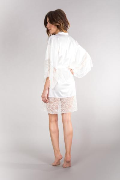 zmysłowy szlafrok kimono