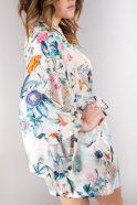 szlafrok kimono w motyle