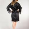 eteryczne czarne kimono