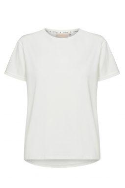 Bawełniany T-shirt Basic z okrągłym dekoltem