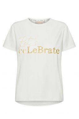 T-shirt Gold